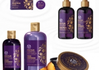 Gama Rich Plum de la Body Shop