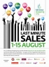 Last Minute Sales in Baneasa Shopping City