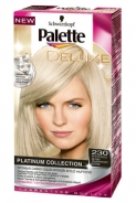 Vopsea de par Palette: Blond Aur Alb - Deluxe Platinum Collection