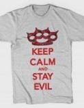 Tshirt-Factory.ro: KEEP CALM AND STAY EVIL