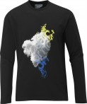 Haine barbati: Bluza Salomon LS Cotton Poly M black 2012