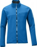 Haine barbati: Bluza Salomon LAY BACK II FULL ZIP M Vibrant Blue 2013
