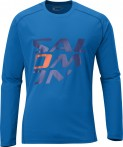 Haine barbati: Tricou Salomon Moto Logo Tech M blue 2013