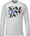 Haine barbati: Tricou Salomon Moto Logo Tech M white 2013