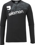 Haine barbati: Bluza Salomon LS Cotton Poly M black 2013
