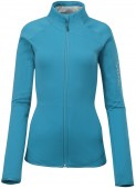 Salomon: Midlayer Salomon Lay Back II W Full Zip blue 2013