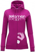 Salomon: Hanorac Salomon Full Zip Sweat W fancy pink 2013