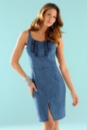 BisousBisous by Miss Ann: Rochie din jeans