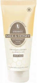 Creme de fata: Milk & Honey Masca nutritiva anti-age 250 ml