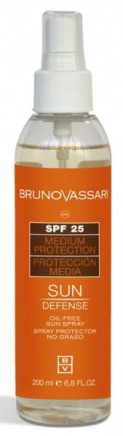Bruno Vassari: Oil Free Sun Spray SPF10 - 200 ml