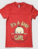 Tshirt-Factory: IT'S A BABY GIRL