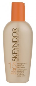 Bruno Vassari: Skeyndor Sun Care Biologic Sun Defence Emulsion SPF 15 150 ml