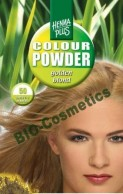 Vopsea de par: HENNAPLUS Colour Powder Golden Blond 50
