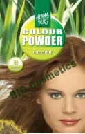Vopsea de par: HENNAPLUS Colour Powder Hazelnut 5