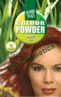 Vopsea de par: HENNAPLUS Colour Powder Super Red 55