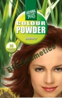 Vopsea de par: HENNAPLUS Colour Powder Auburn 56