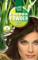 Vopsea de par: HENNAPLUS Colour Powder Dark Brown 57