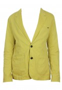 Pull and Bear: Jacheta Pull and Bear Pondo Yellow
