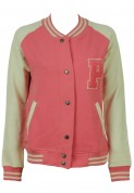 Pull and Bear: Jacheta Pull and Bear Pondo Pink