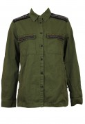 Pull and Bear: Jacheta Pull and Bear Tinker Dark Green