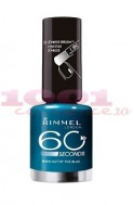 Manichiura perfecta de Revelion: RIMMEL LONDON 60 SECONDS LAC DE UNGHII OUT OF THE BLUE 844