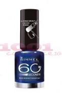 Manichiura perfecta de Revelion: RIMMEL LONDON 60 SECONDS LAC DE UNGHII MIDNIGHT SKINNY DEEP 843