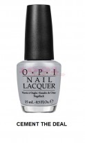 OPI: OPI COLECTIA FIFTY SHADES OF GREY LAC DE UNGHII CEMENT THE DEAL