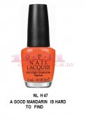 OPI: OPI LAC DE UNGHII A GOOD MANDARIN IS HARD TO FIND NLH 47