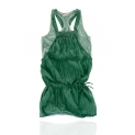 Pull and Bear: Rochie verde