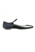 Fratelli Rossetti: Navy and black suede