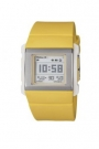 Ceas Baby-G Yellow Square Watch with Digital Dial and Resin Band