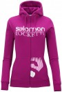 Hanorac Salomon Full Zip Sweat W fancy pink 2013