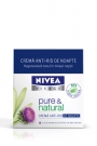 Crema anti-rid de noapte NIVEA pure& natural