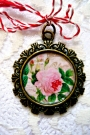 Martisor-Pandant Sweet Rose