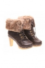Botine de dama brown Motion