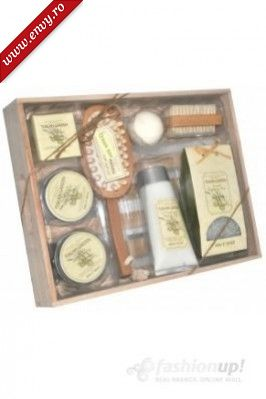 Set cosmetic baie X8 piese bam boo -