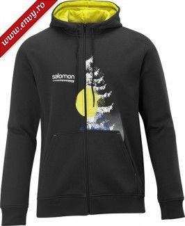 Salomon FULL ZIP HOODY SWEAT M 2012