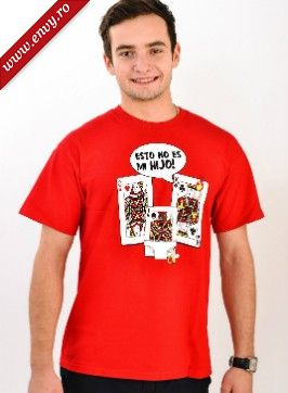 Tricou Baiat Playing Cards Soap Opera