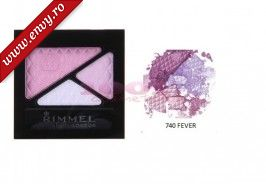 RIMMEL LONDON GLAM EYES TRIO FARD DE PLEOAPE FEVER 740