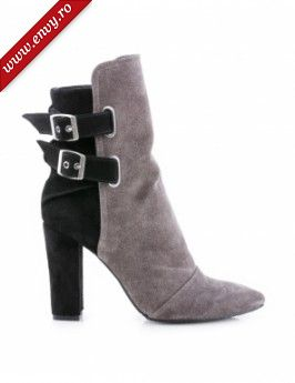 Botine grej, Rock the City, Black and Greige, The 5th Element