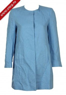 Pardesiu ZARA Mathilda Light Blue