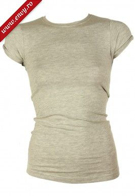 Tricou Pull and Bear Anak Grey